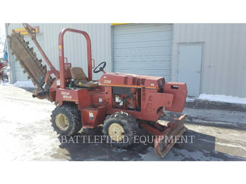 DITCH WITCH (CHARLES MACHINE WORKS) ZANJADORAS 3700 equipment  photo 3