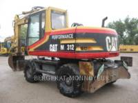 CATERPILLAR WHEEL EXCAVATORS M312 equipment  photo 4