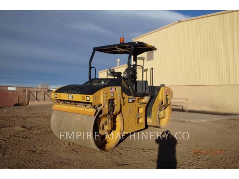 CATERPILLAR TANDEMOWY WALEC WIBRACYJNY DO ASFALTU (STAL-STAL) CB54B equipment  photo 4