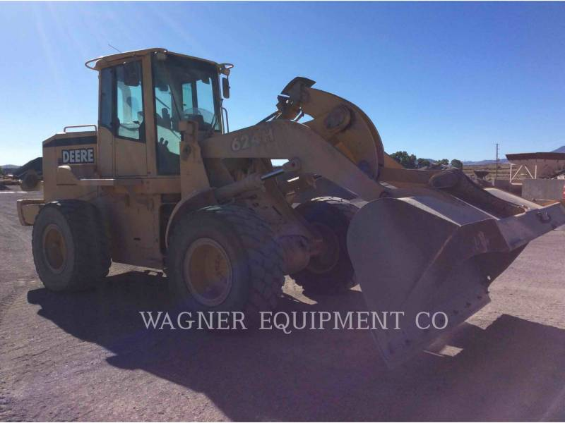 DEERE & CO. WHEEL LOADERS/INTEGRATED TOOLCARRIERS 624H equipment  photo 4