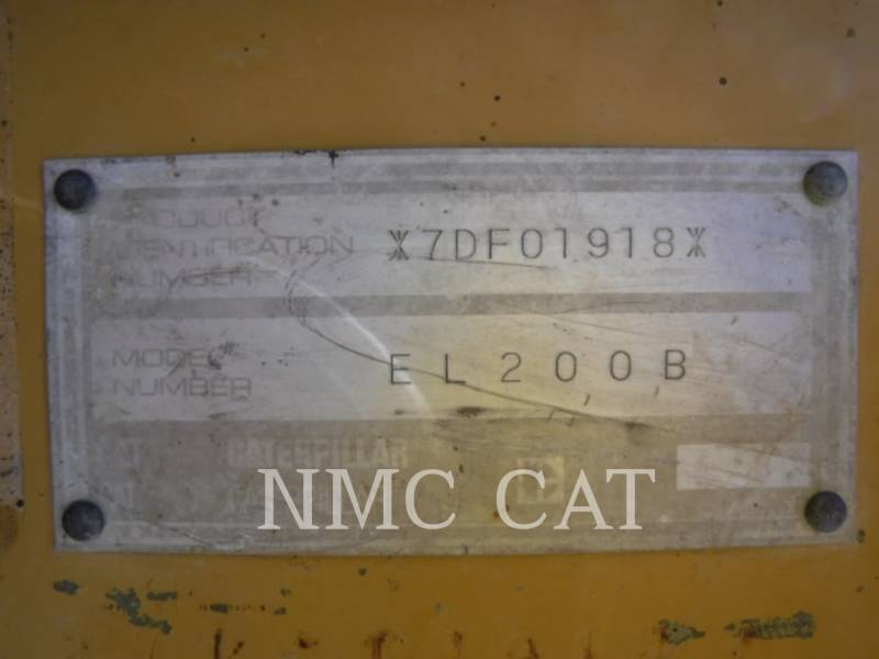 CATERPILLAR EXCAVADORAS DE CADENAS E200BL equipment  photo 6