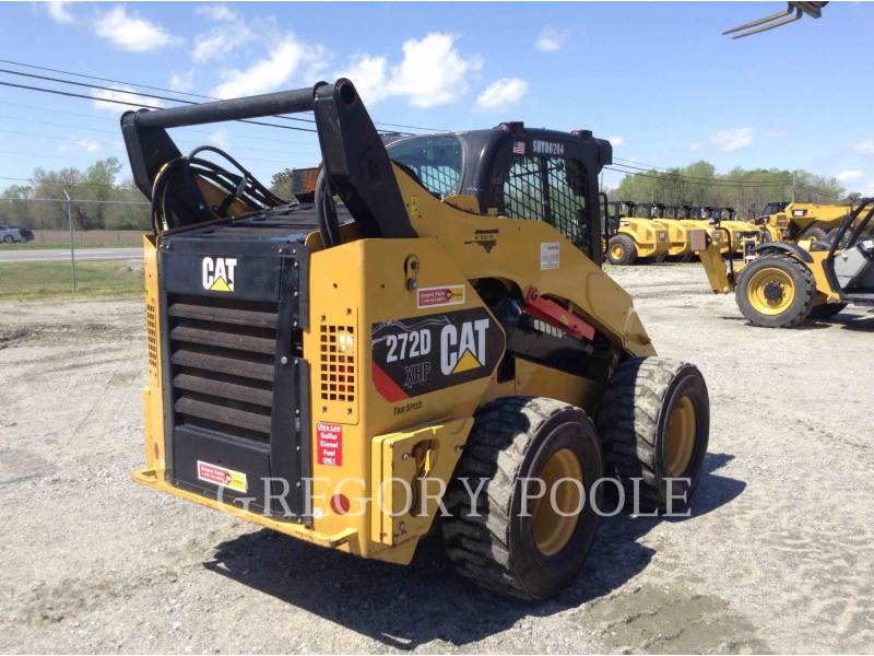 CATERPILLAR MINICARGADORAS 272D XHP equipment  photo 4