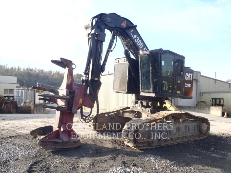 CATERPILLAR 林業 - フェラー・バンチャ - トラック 522B equipment  photo 1