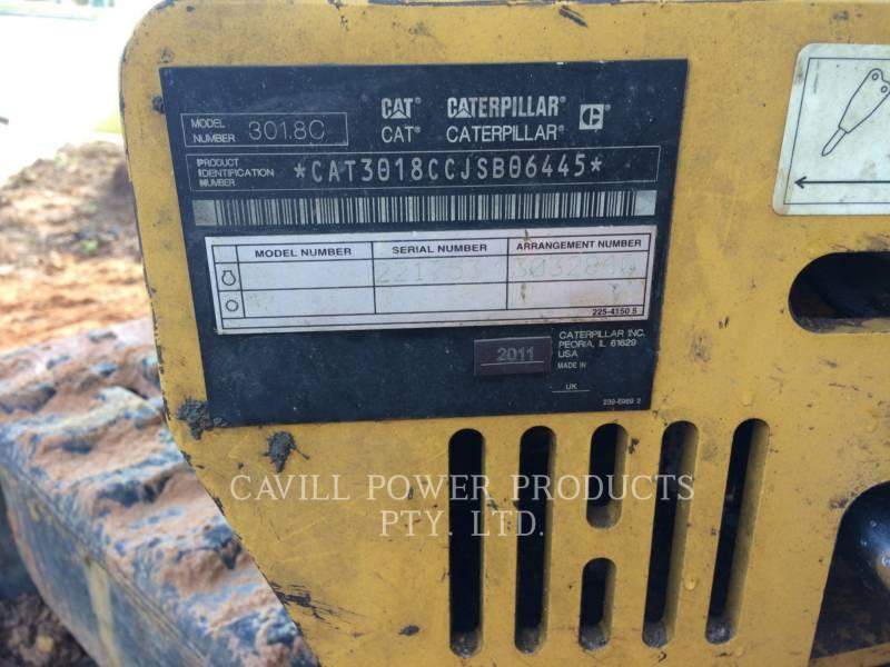 CATERPILLAR ESCAVADEIRAS 301.8C equipment  photo 8