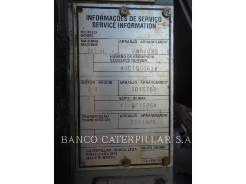 CATERPILLAR TRACTORES DE CADENAS D6TXL equipment  photo 14