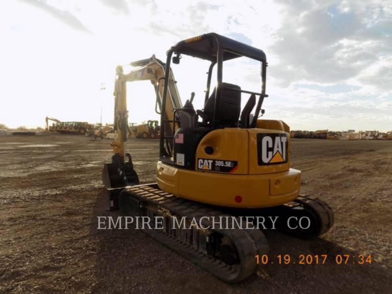 CATERPILLAR KOPARKI GĄSIENICOWE 305.5E2CRT equipment  photo 1