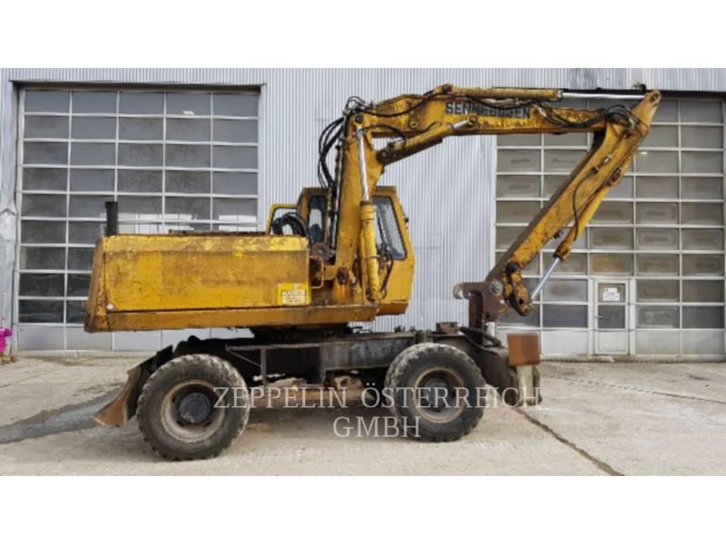 SENNEBOGEN WHEEL EXCAVATORS SM 15 equipment  photo 1