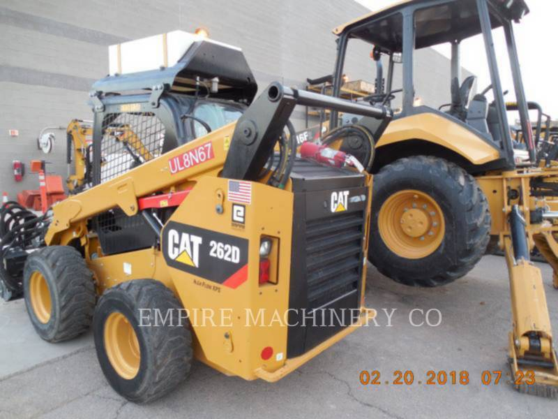 CATERPILLAR SKID STEER LOADERS 262D XPS equipment  photo 4