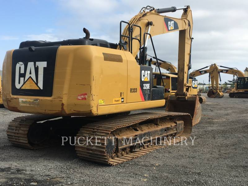 CATERPILLAR KETTEN-HYDRAULIKBAGGER 320E equipment  photo 4