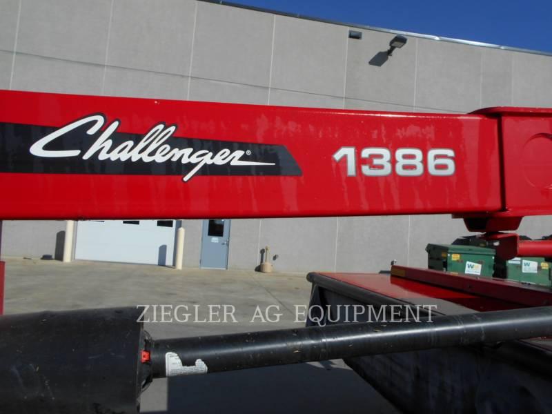 AGCO-CHALLENGER AGRARISCHE HOOI-UITRUSTING CH1386 equipment  photo 12