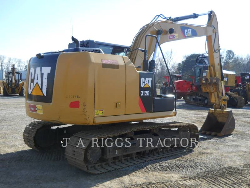 CATERPILLAR KETTEN-HYDRAULIKBAGGER 312E 9 equipment  photo 5