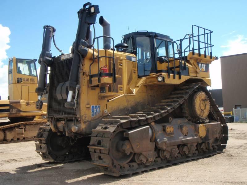 CATERPILLAR TRACTOREN OP RUPSBANDEN D11T equipment  photo 2