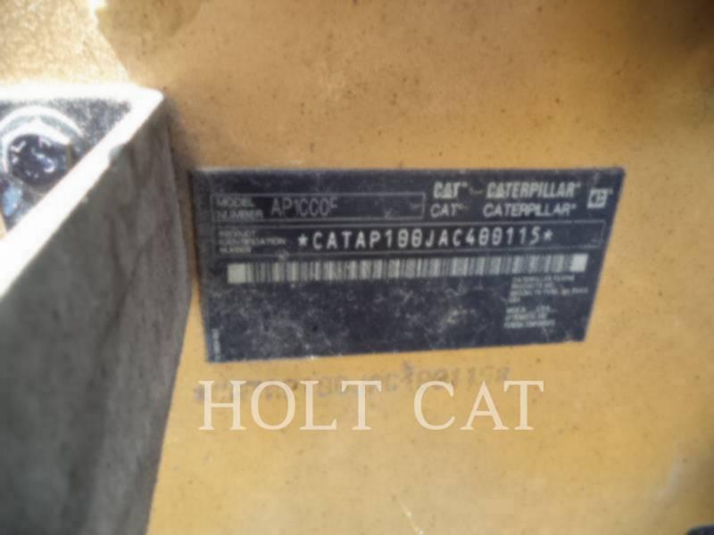 CATERPILLAR FINISSEURS AP1000F equipment  photo 5
