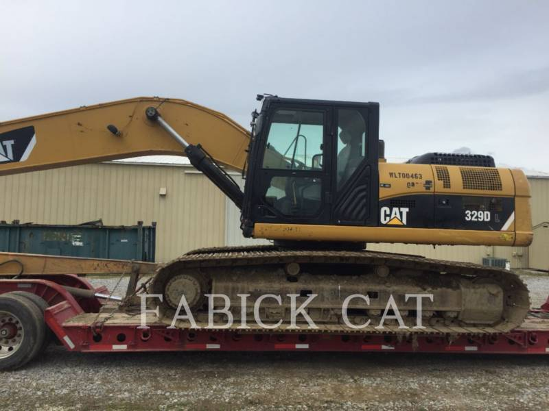CATERPILLAR TRACK EXCAVATORS 329D LR equipment  photo 2