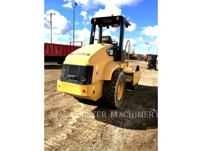 CATERPILLAR COMPACTEUR VIBRANT, MONOCYLINDRE LISSE CS-433E equipment  photo 3