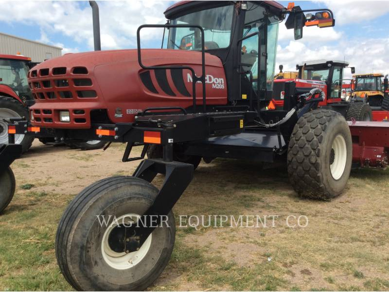 MACDON MATERIELS AGRICOLES POUR LE FOIN M205 equipment  photo 3