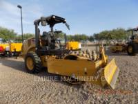 CATERPILLAR EINZELVIBRATIONSWALZE, BANDAGE CP44B equipment  photo 1