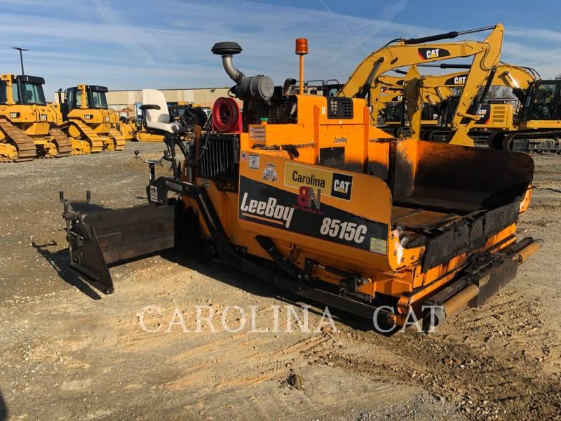 LEE-BOY ASPHALT PAVERS 8515C equipment  photo 5