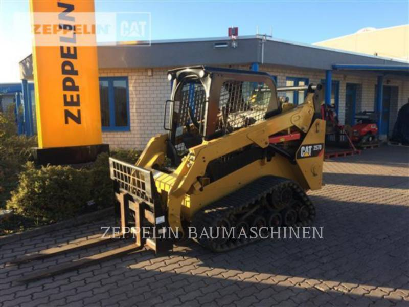 CATERPILLAR MULTITERREINLADERS 257D equipment  photo 1