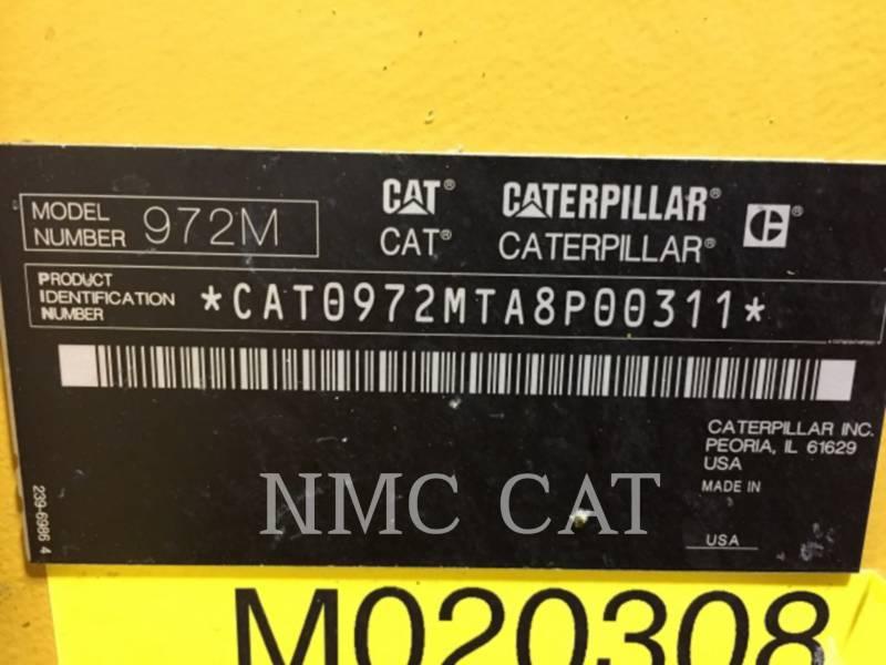 CATERPILLAR CHARGEURS SUR PNEUS/CHARGEURS INDUSTRIELS 972M equipment  photo 1