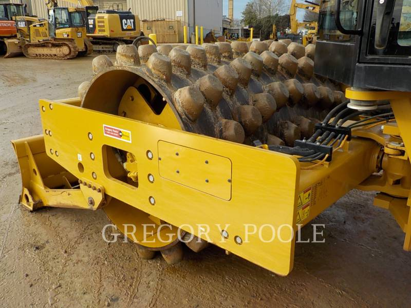 CATERPILLAR VIBRATORY SINGLE DRUM PAD CP-56B equipment  photo 16