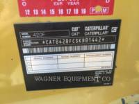 CATERPILLAR BAGGERLADER 420F 4WD equipment  photo 6