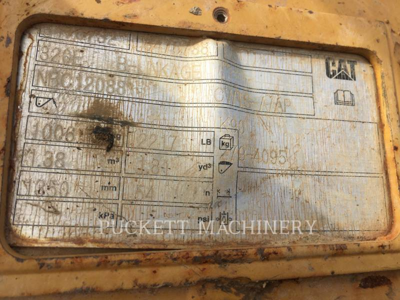 CATERPILLAR TRACK EXCAVATORS 320E equipment  photo 9