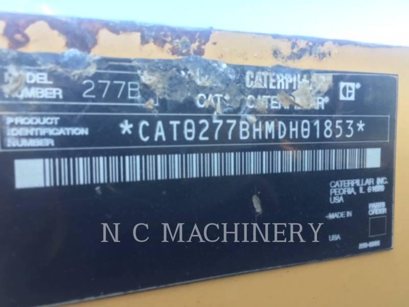Caterpillar ÎNCĂRCĂTOARE PENTRU TEREN ACCIDENTAT 277B equipment  photo 2