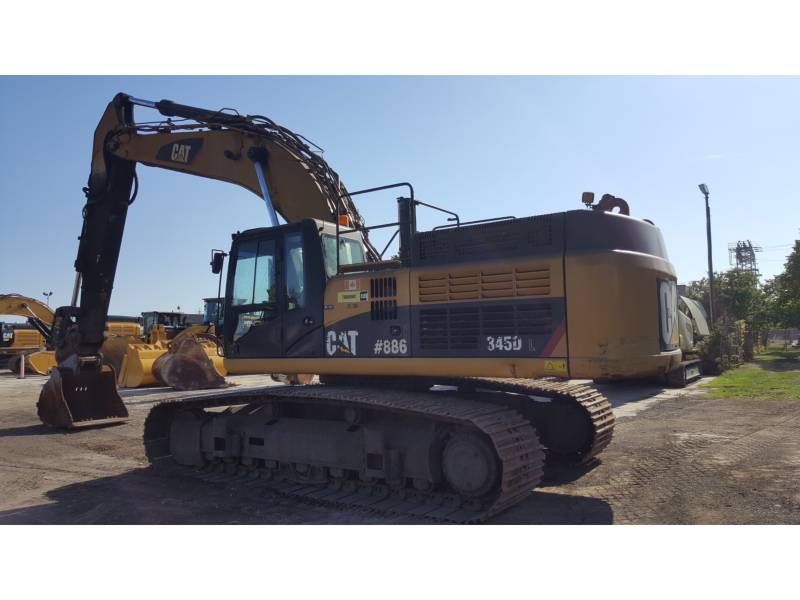 CATERPILLAR TRACK EXCAVATORS 345DL equipment  photo 3