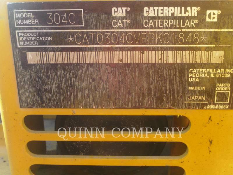 CATERPILLAR TRACK EXCAVATORS 304CCR equipment  photo 6