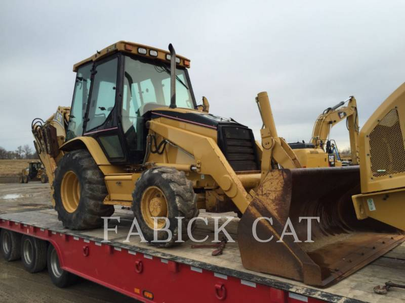 CATERPILLAR BAGGERLADER 420D equipment  photo 1