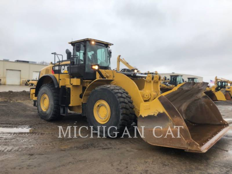 CATERPILLAR WHEEL LOADERS/INTEGRATED TOOLCARRIERS 980M LS equipment  photo 2