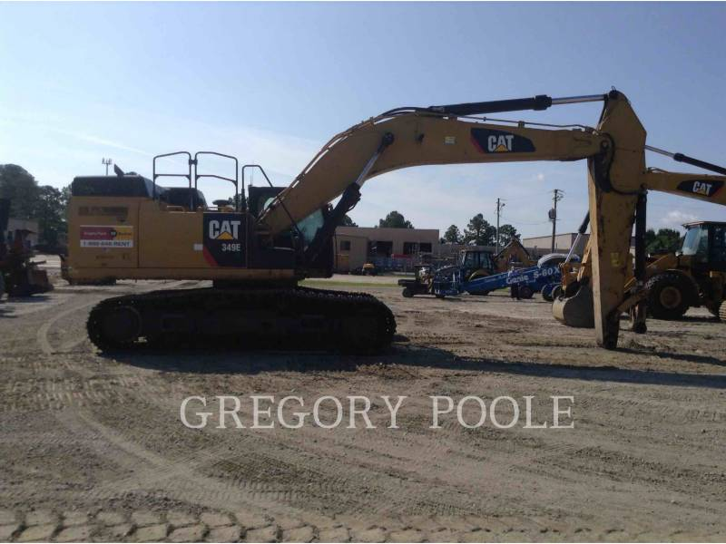 CATERPILLAR TRACK EXCAVATORS 349E L equipment  photo 8