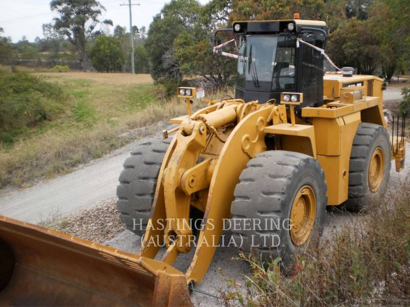CATERPILLAR BERGBAU-RADLADER 990H equipment  photo 1