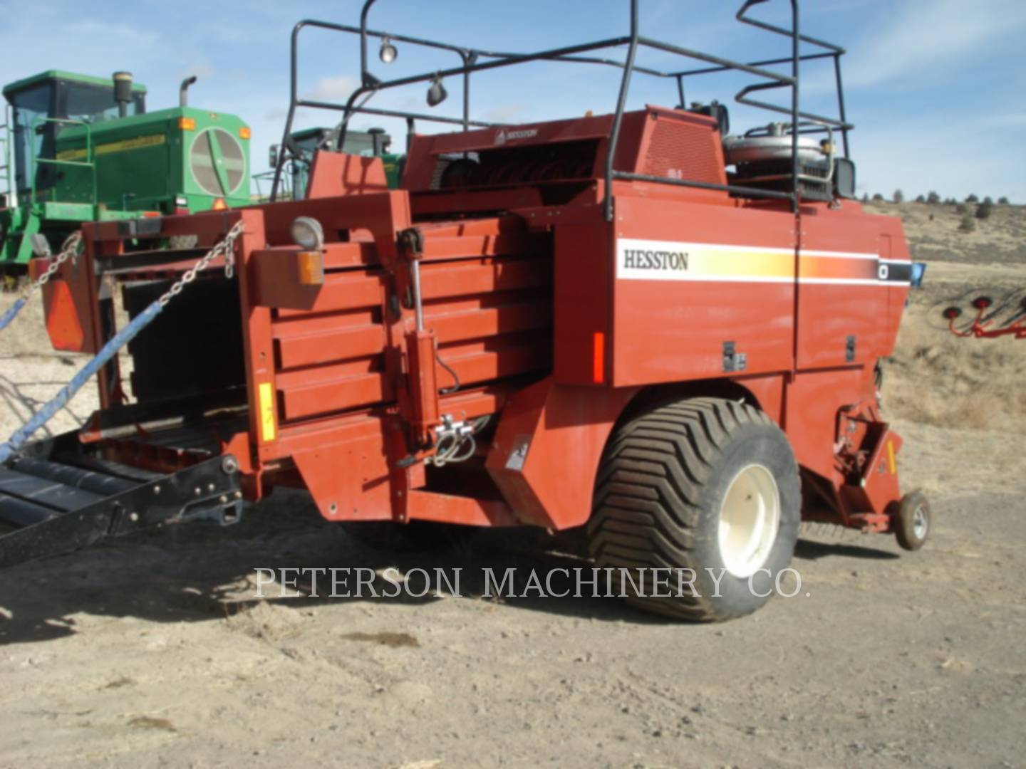 Detail photo of 2003 Hesston HT4790 from Construction Equipment Guide