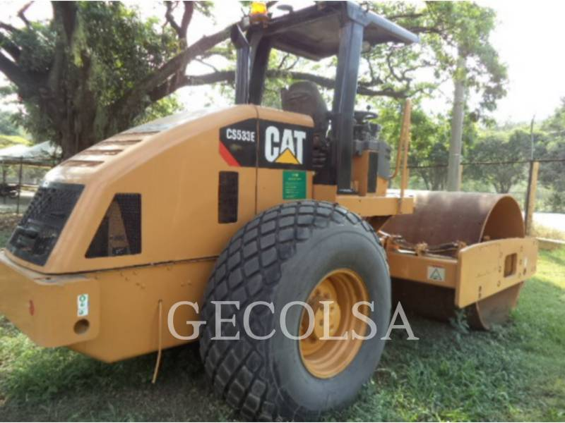 CATERPILLAR WALEC DO GRUNTU, GŁADKI CS-533E equipment  photo 3