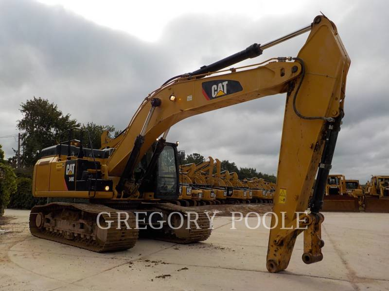 CATERPILLAR TRACK EXCAVATORS 349E L equipment  photo 4