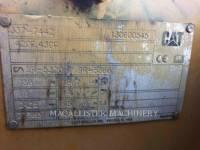 CATERPILLAR BACKHOE LOADERS 420FST equipment  photo 13