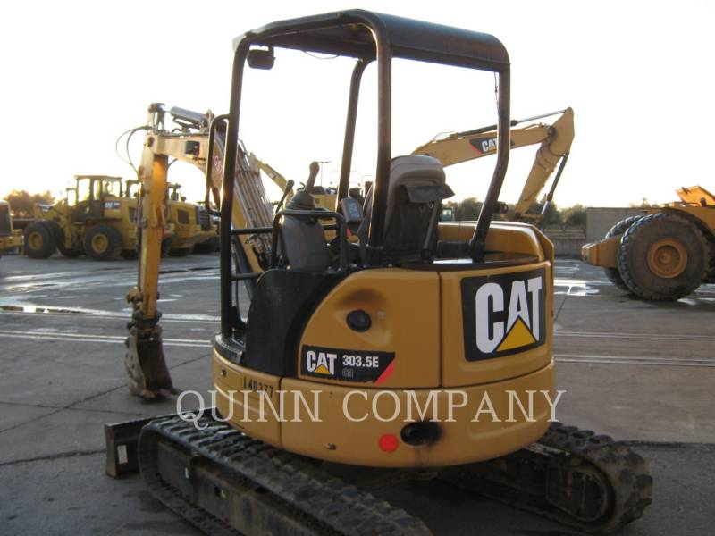 CATERPILLAR TRACK EXCAVATORS 303.5E CR equipment  photo 4