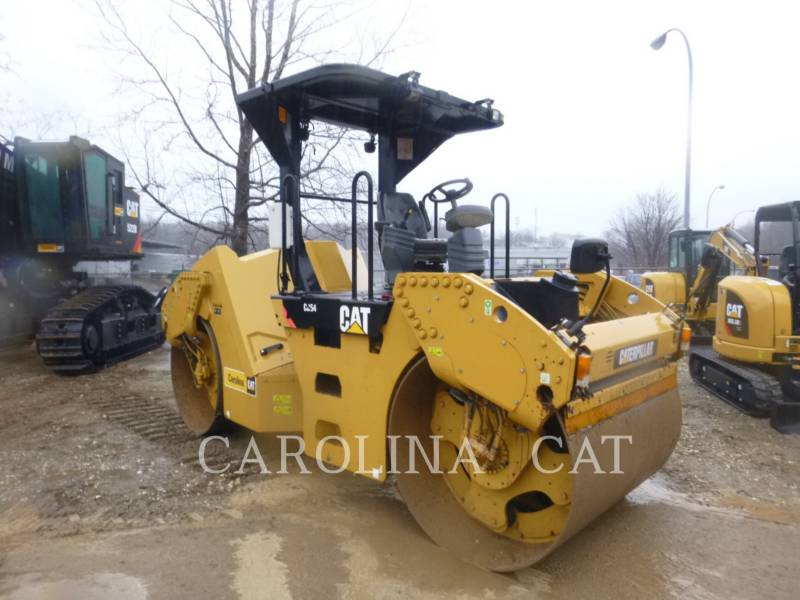 CATERPILLAR TAMBOR DOBLE VIBRATORIO ASFALTO CB54 equipment  photo 5