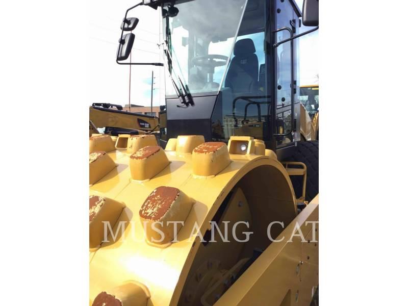 CATERPILLAR VIBRATORY SINGLE DRUM SMOOTH CS66B equipment  photo 10
