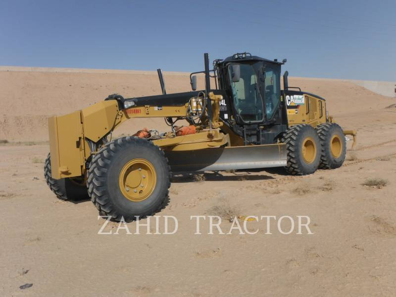 CATERPILLAR MOTONIVELADORAS 14LAWD equipment  photo 1