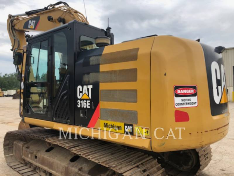 CATERPILLAR EXCAVADORAS DE CADENAS 316EL PQ28 equipment  photo 8