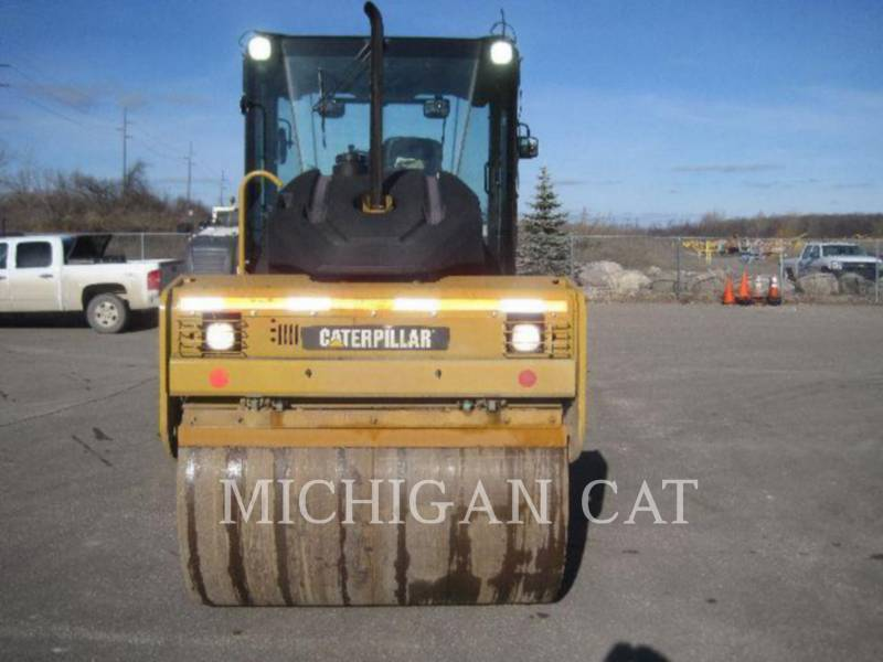CATERPILLAR VIBRATORY DOUBLE DRUM ASPHALT CD54 equipment  photo 12