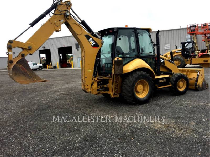 CATERPILLAR CHARGEUSES-PELLETEUSES 420 F equipment  photo 2