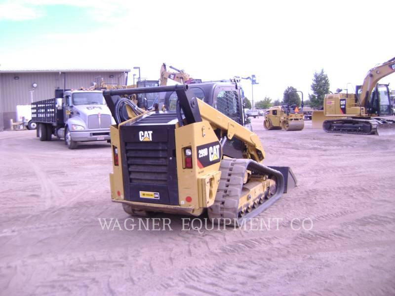 CATERPILLAR MULTITERREINLADERS 299D equipment  photo 3