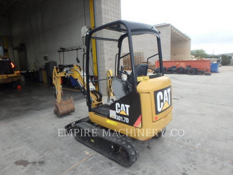 CATERPILLAR TRACK EXCAVATORS 301.7D OR equipment  photo 3