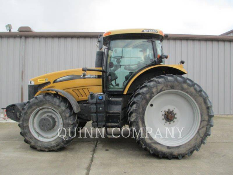 CHALLENGER TRACTEURS AGRICOLES MT665D equipment  photo 3