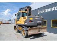 VOLVO CONSTRUCTION EQUIP BRASIL WHEEL EXCAVATORS EW 160 C equipment  photo 15