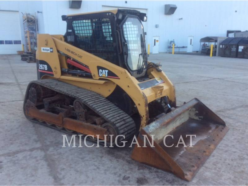 CATERPILLAR CHARGEURS TOUT TERRAIN 267B AQ equipment  photo 2